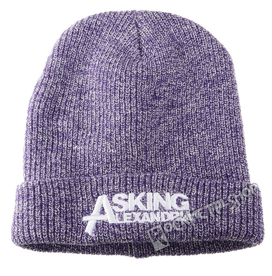 czapka ASKING ALEXANDRIA  - LOGO PURPLE
