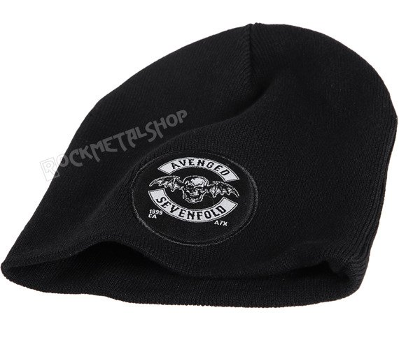 czapka AVENGED SEVENFOLD - DEATH BAT CREST, zimowa