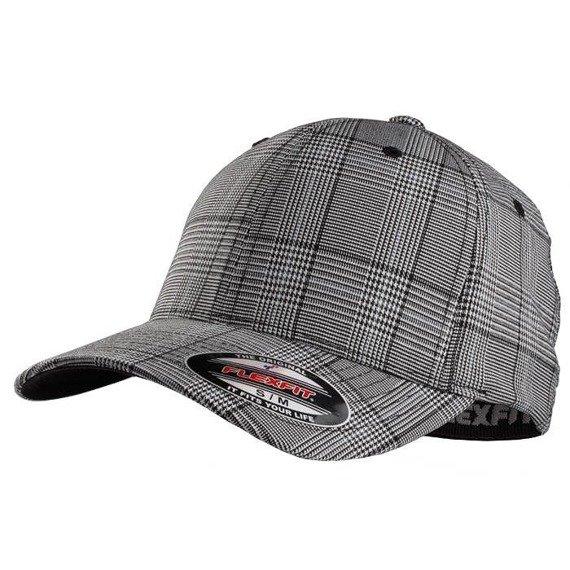 czapka MASTERDIS - BASEBALL CAP FLEXFIT GLEN CHECK