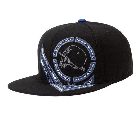 czapka METAL MULISHA - ALERT blue/black