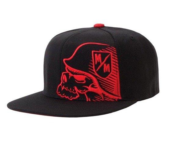 czapka METAL MULISHA - BLAZE red/black