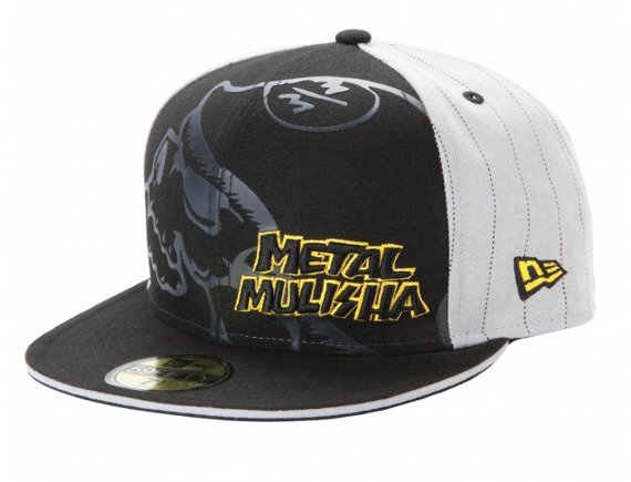 czapka METAL MULISHA - RUDE black/grey