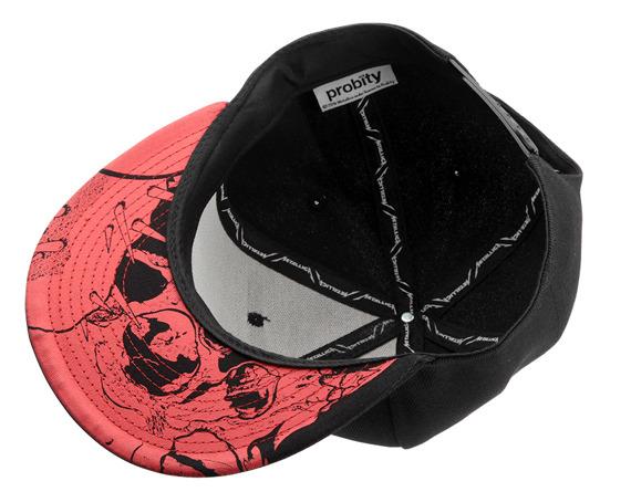 czapka METALLICA - RED DAMAGE INC.