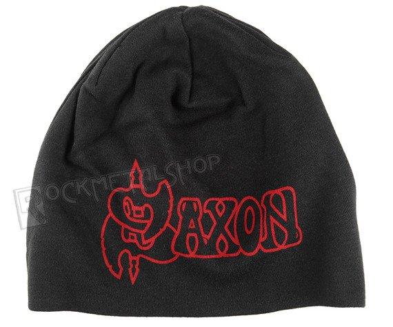 czapka SAXON - LOGO EAGLE, zimowa
