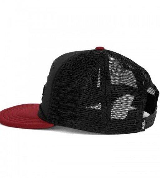 czapka VANS - CLASSIC PATCH TRUCK BLACK RHUBARB