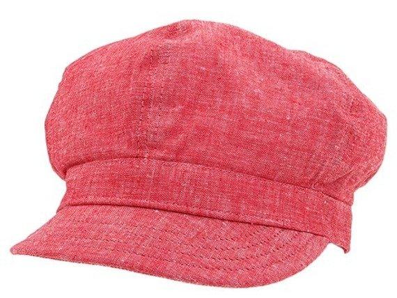 czapka damska DC - CLEVER (RED)