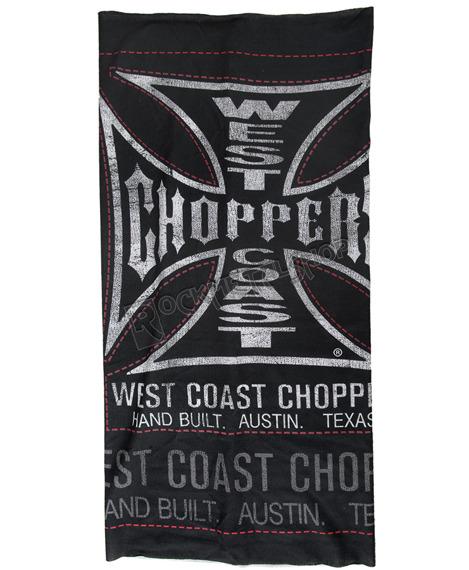 czapka/szalik WEST COAST CHOPPERS - HAND BUILT