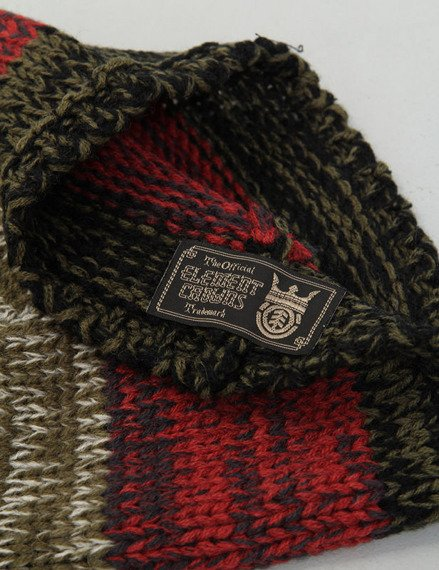czapka zimowa ELEMENT - LEBOWSKI (ARMY)