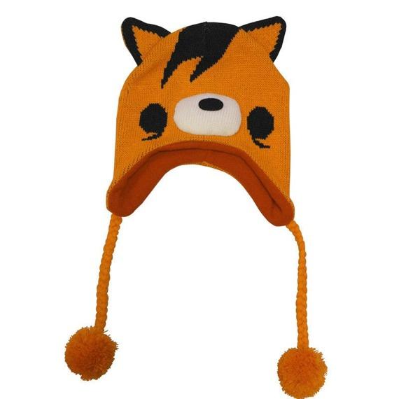 czapka zimowa FREAKS AND FRIENDS - ORANGE FOX LAPLANDER