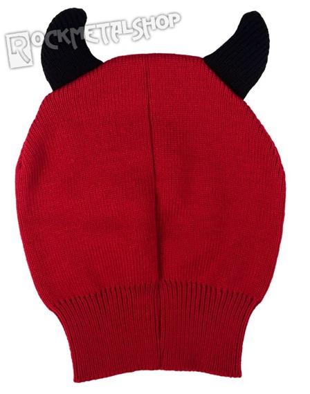 czapka zimowa FREAKS AND FRIENDS - RED DEVIL OPEN FACE MASK
