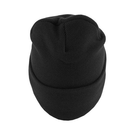 czapka zimowa MASTERDIS - BEANIE BASIC FLAP LONG black