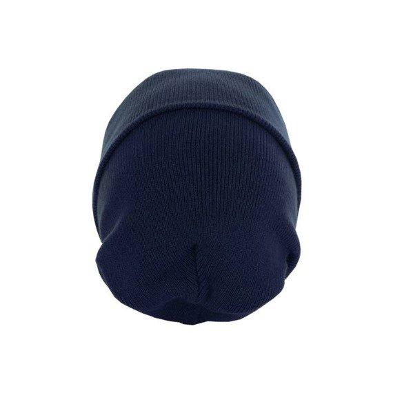 czapka zimowa MASTERDIS - BEANIE BASIC FLAP LONG navy