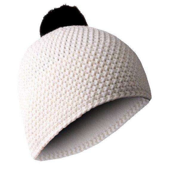 czapka zimowa MASTERDIS - BEANIE POLAR white/black