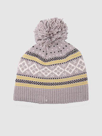czapka zimowa VANS - ALP (CEMENT)