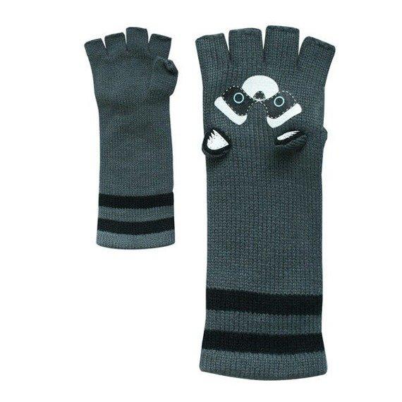 czapka zimowa i rękawiczki FREAKS AND FRIENDS - RACCOON WINTER SET