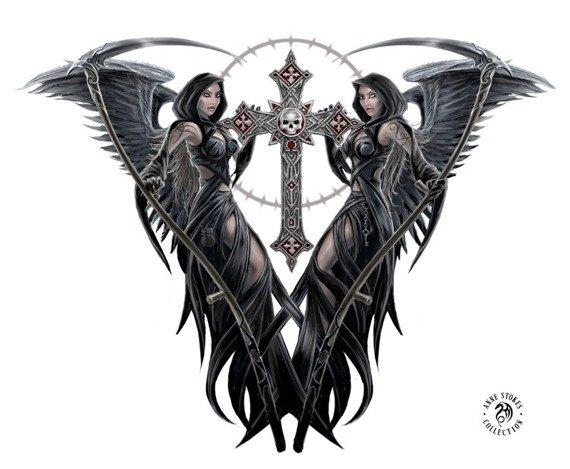 dekoracja ANGELS OF DEATH