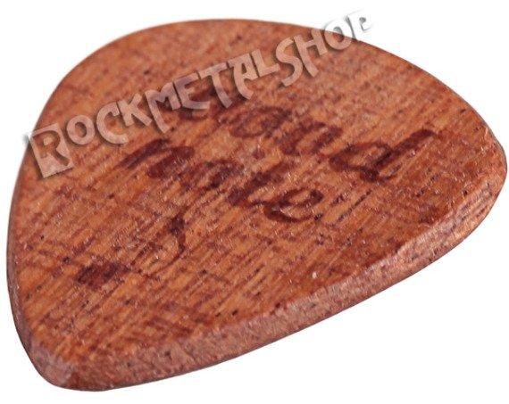 drewniana kostka do gitary WOODNOTE / MAHOŃ SAPELE - Tearwood