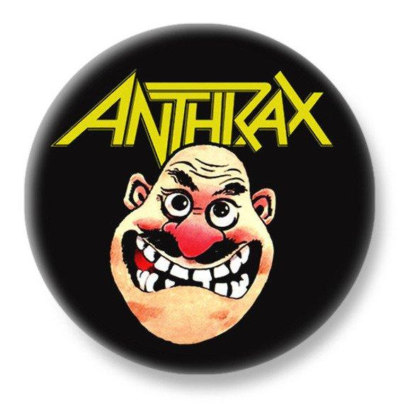 duży kapsel ANTHRAX - NOT MAN