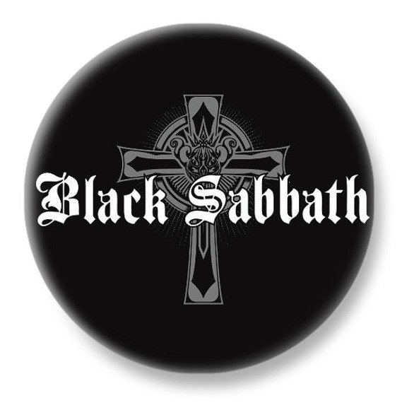 duży kapsel BLACK SABBATH - CROSS