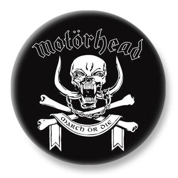 duży kapsel MOTORHEAD - MARCH OR DIE