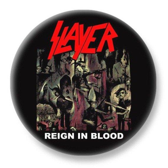 duży kapsel SLAYER - REIGN IN BLOOD