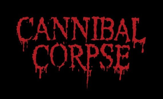 ekran CANNIBAL CORPSE - NEW RED LOGO