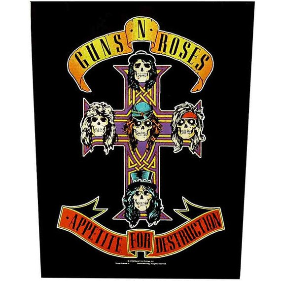 ekran GUNS N' ROSES - APPETITE FOR DESTRUCTION