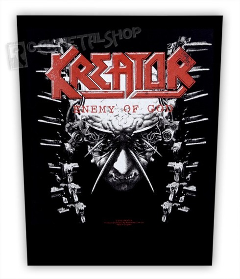 ekran KREATOR - ENEMY OF GOD