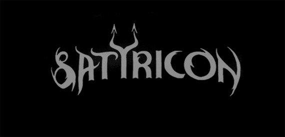 ekran SATYRICON - GREY LOGO