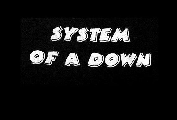 ekran SYSTEM OF A DOWN - LOGO