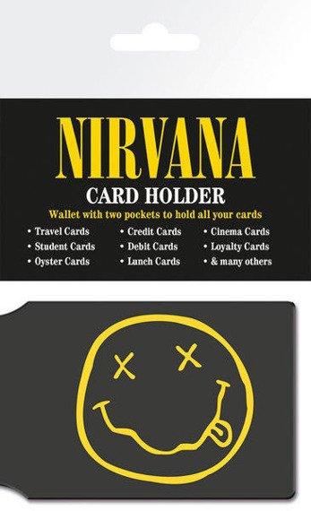 etui na kartę kredytową NIRVANA - SMILEY