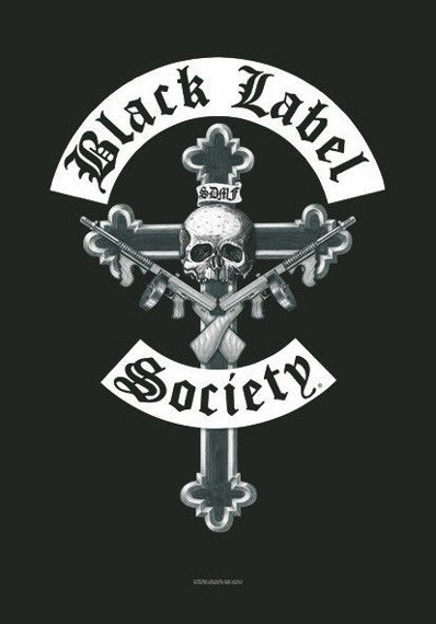 flaga BLACK LABEL SOCIETY - CRUCIFIX