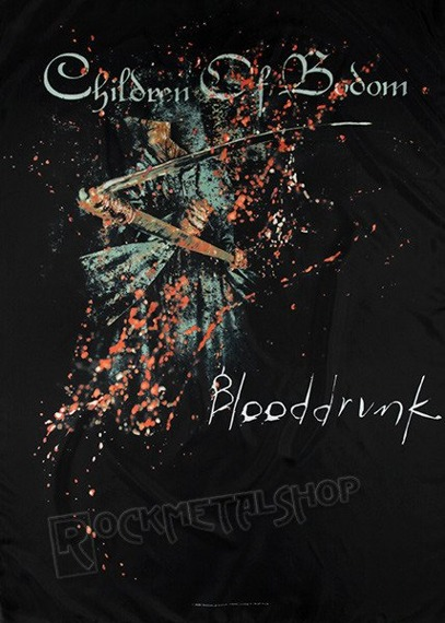 flaga CHILDREN OF BODOM - BLOODDRUNK