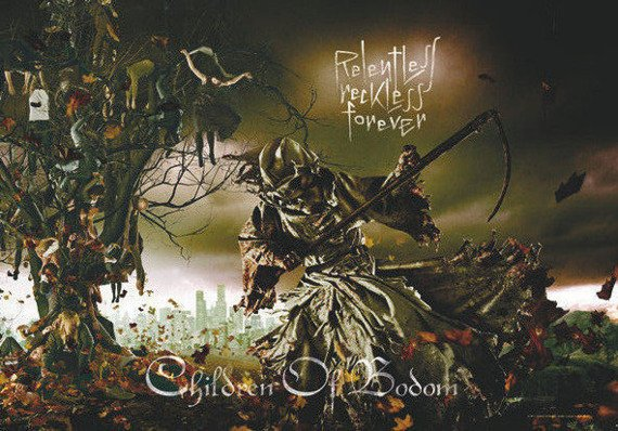 flaga CHILDREN OF BODOM - RELENTLESS