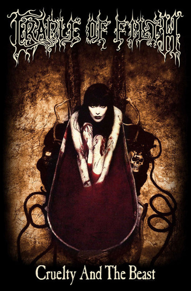 flaga CRADLE OF FILTH - CRUELTY AND THE BEAST