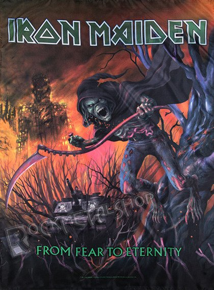 flaga IRON MAIDEN - FROM FEAR TO ETERNITY