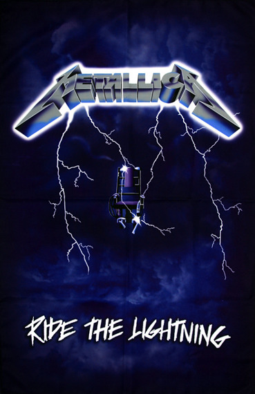 flaga METALLICA - RIDE THE LIGHTNING