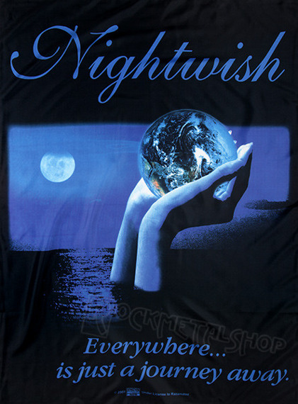 flaga NIGHTWISH - EVERYWHERE...