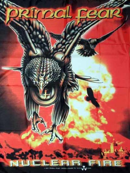 flaga PRIMAL FEAR - NUCLEAR FIRE