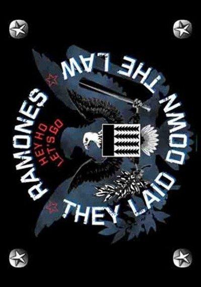 flaga RAMONES