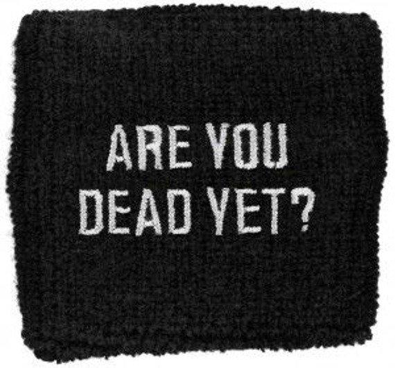frotka na rękę CHILDREN OF BODOM - ARE YOU DEAD YET?