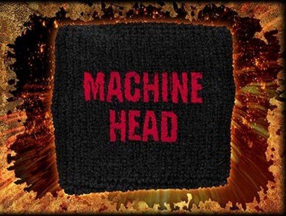 frotka na rękę MACHINE HEAD - RED LOGO