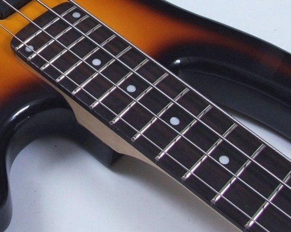 gitara basowa VISION JB-8 - SUN BLACK
