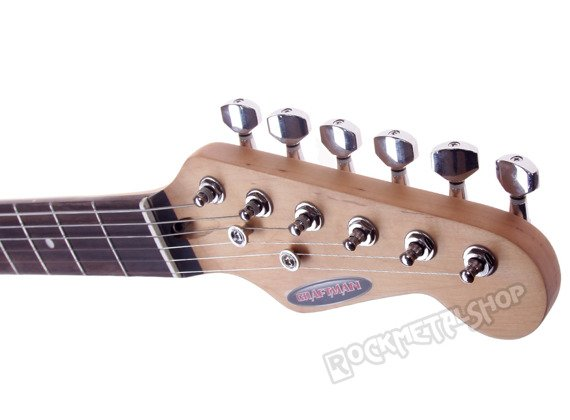 gitara elektryczna CRAFTMAN KST-38R/BK-MATT BLACK matowy lakier