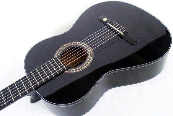 gitara klasyczna MSA C21 - CZARNA + 5X GRATIS (C21)