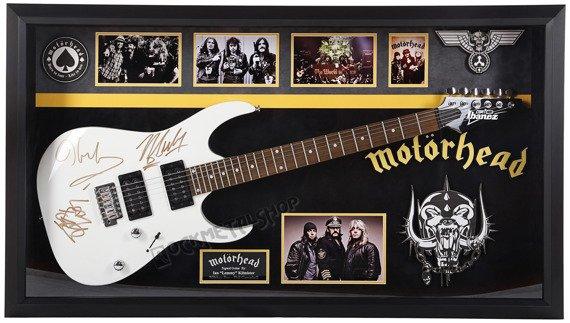 gitara z autografami MOTÖRHEAD - ANTIQUITIES CALIFORNIA