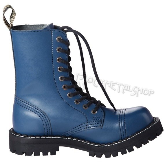 glany STEEL - FULL BLUE (10 dziurek)