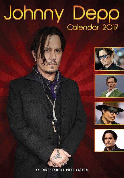 kalendarz JOHNNY DEPP 2017