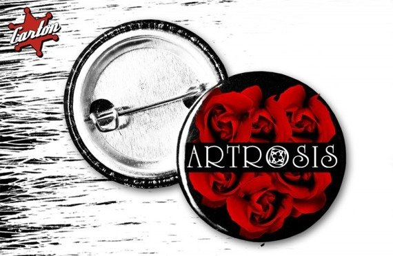 kapsel ARTROSIS - LOGO RED ROSE