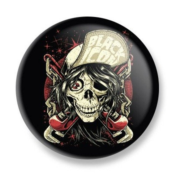 kapsel BLACK ICON - INDUSTRIAL SKULL (KICON120)